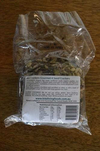 Kitz gourmet 4 seed crackers