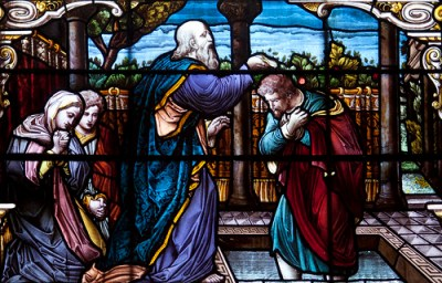 St Paul Baptizing