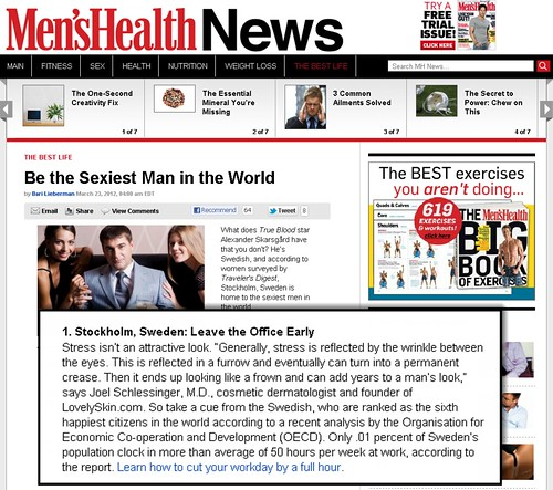 Men's Health - Be the Sexiest Man in the World