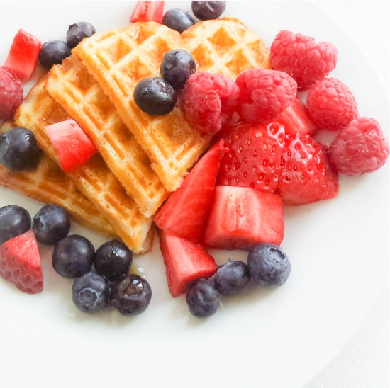 recipe for waffles