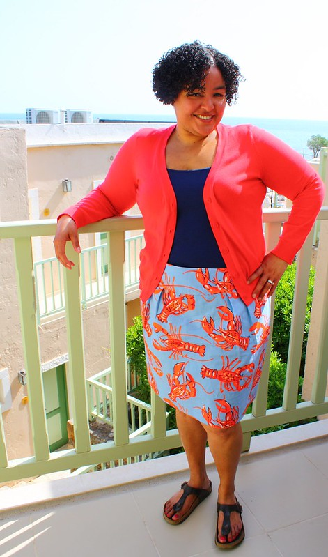 Simplicity 2451, aka The Lobster Skirt