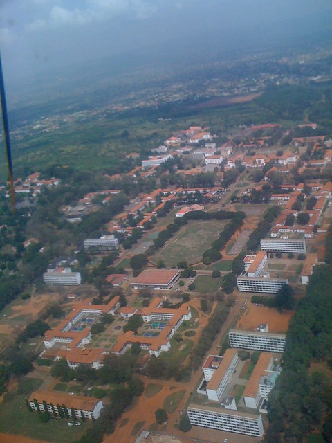 View Of University Of Ghana Campus Legon Explore
