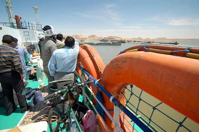 Docking in Wadi Halfa