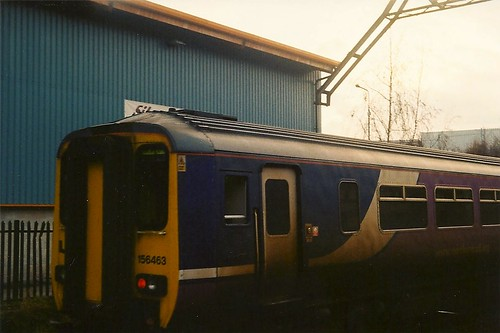 Class 156 Super Sprinter, 156463, Altrincham Interchange