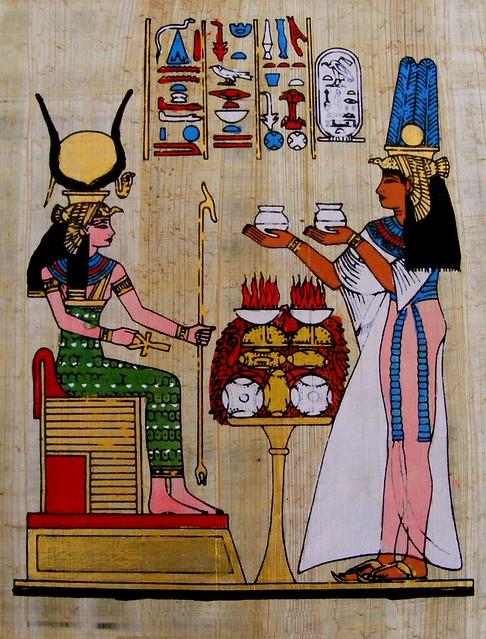 Nefertari & Isis