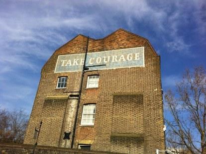 A brave building