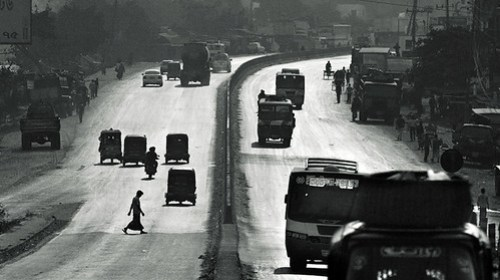The road dangerous [..Narayanganj, Bangladesh..]