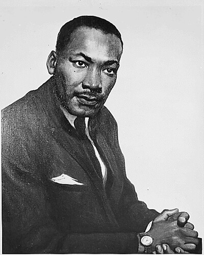 Portrait of Dr. Martin Luther King, Jr.