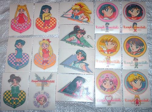 Sailor Moon PP Irazumi Seals i