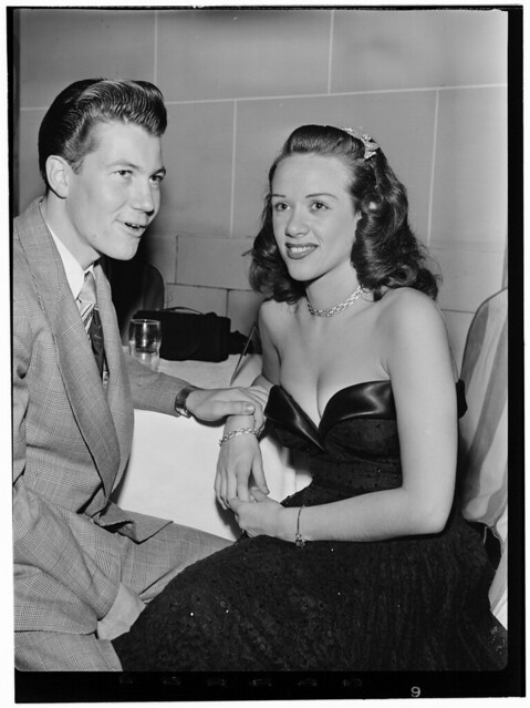 [Portrait of Fran Warren and Gene Williams, Hotel Pennsylvania(?), New York, N.Y., ca. Oct. 1947] (LOC)