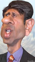 Bobby Jindal - Caricature