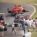 1991 F1 Canadian  GP Alesi's Ferrari on the hook