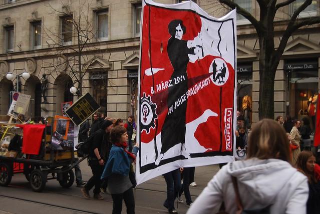 Frauendemo 12. März 2011, Zürich