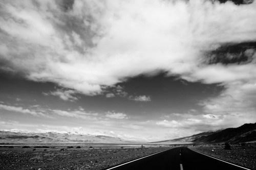 Take the black road