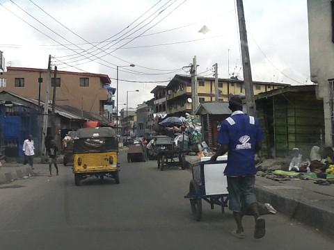 Lagos Island - Isale Eko - Nigeria by Jujufilms