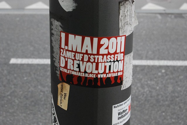 Invitation to Zurich Labour Day 2011