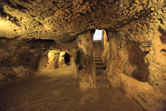 Derinkuyu Underground City In Turkey