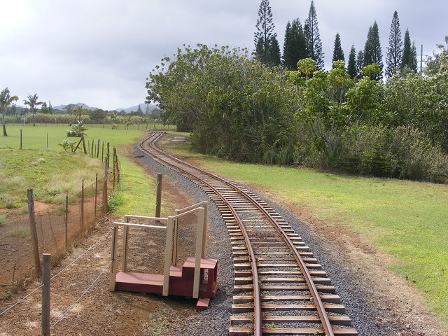 Picture from the Kauai Plantation Railway