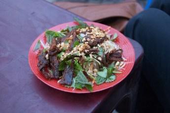 Papaya Salat mit Rind