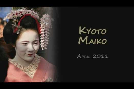 Maiko around Gion, Kyoto - 2011