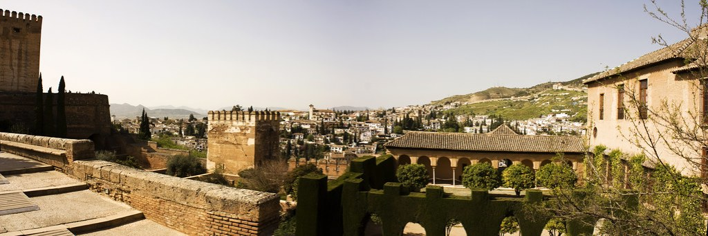 Panorama from Alhambra 2011