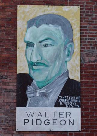 Saint John : Famous Saint John - Walter Pidgeon