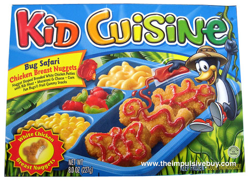review kid cuisine bug safari nuggets the impulsive buy. Black Bedroom Furniture Sets. Home Design Ideas