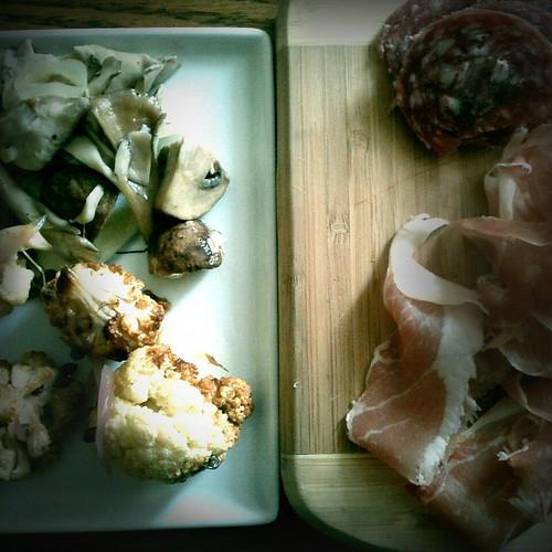 Antipasti for dinner