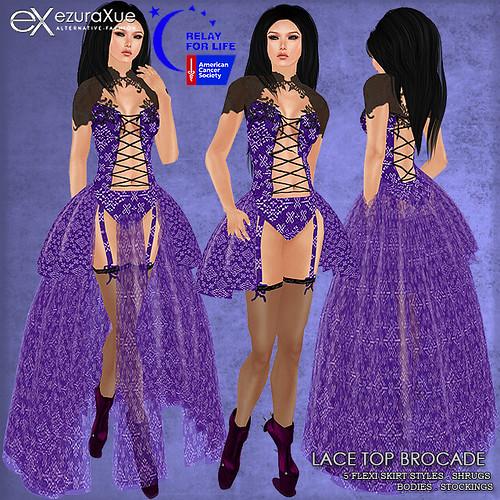 ezura + Lace Top Brocade for Fantasy Faire