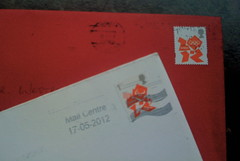 London 2012 stamps by @westrowc