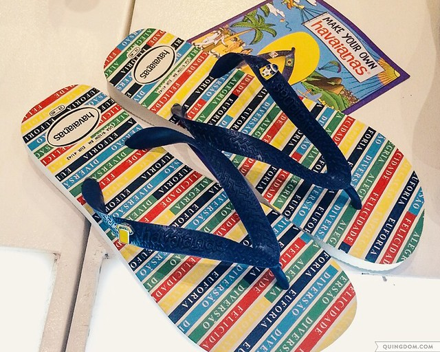 Make Your Own Havaianas 2014 Commemorative Pair