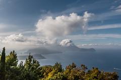 Capo-Grillo-Blick mit Wolken