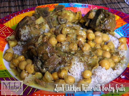 Lamb-chickpea tajine with barley grits