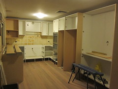 Kitchen install day 2