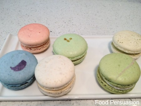 Soirette – Macrons & Tea Food persuasion Blog