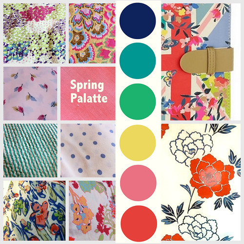 Spring Summer Colour Palatte final