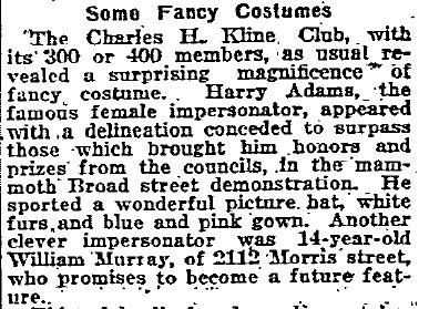 1919 Some Fancy Costumes