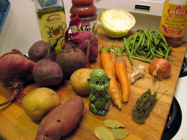 Borscht Ingredients