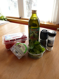 Caprese Salad - Ingredients