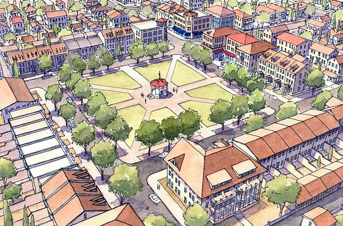 neighborhood vision for El Paso (by: Dover Kohl, courtesy of City of El Paso)