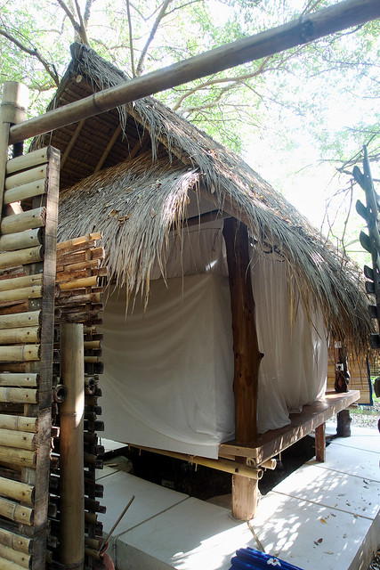 Our Gili Meno accommodations.
