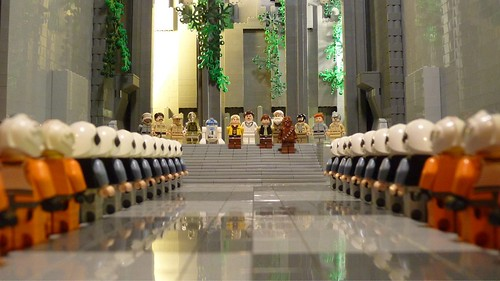 Yavin 4's Massassi Temple, by Legoagogo, on flickr