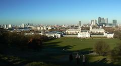 London Skyline from Greenwich