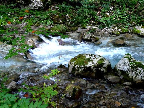 Tscheppaschlucht stream