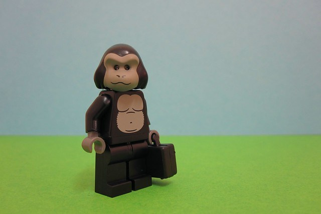 [139/365] Business Monkey