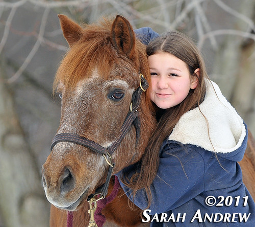Fred- available for adoption at Helping Hearts Equine Rescue (child not included)