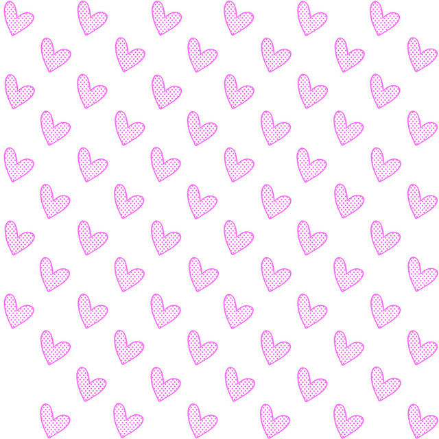 WhitewithPinkHearts
