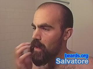 Salvatore: going goatee, part 16