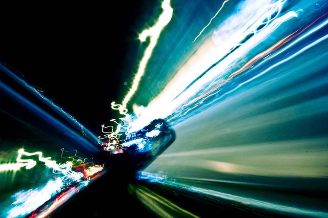 Tehran lightshow