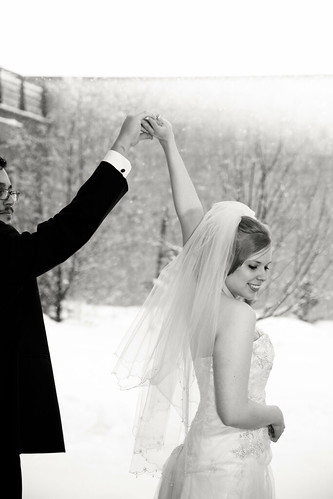 Katherine + Luis | Winter Wedding Dance at UNBC